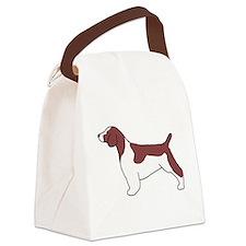 Welsh Springer Spaniel Canvas Lunch Bag