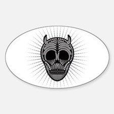 Paleo Wheat Skull Decal