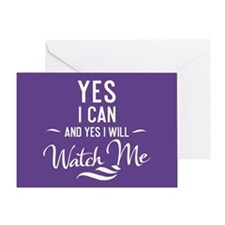 Yes I Can Greeting Card