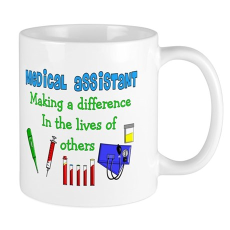 Medical Assistant making a Difference Mugs
