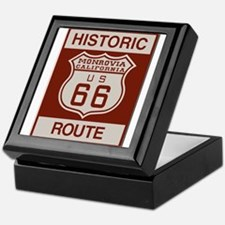 Monrovia Route 66 Keepsake Box