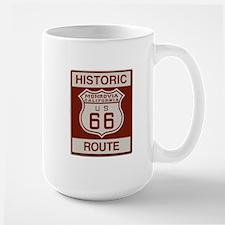 Monrovia Route 66 Large Mug
