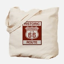 Monrovia Route 66 Tote Bag