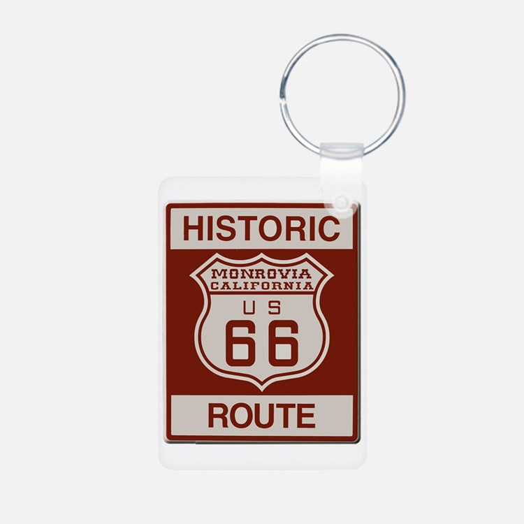 Monrovia Route 66 Keychains