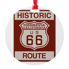 Monrovia Route 66 Ornament