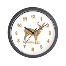 Cute Deere Wall Clock