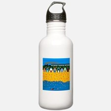 We are on holiday Water Bottle