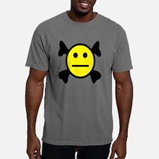 SMILEY CROSSBONES.png Mens Comfort Colors Shirt