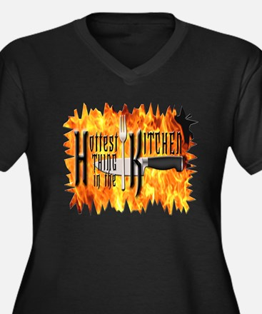 Hottest Thing in the Kitchen Women's Plus Size V-N