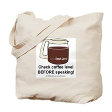 Cranky Coffee Lover: Tote Bag