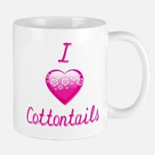I Love/Heart Cottontails Mug