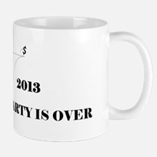 Fiscal Cliff - The Party is Over Mug
