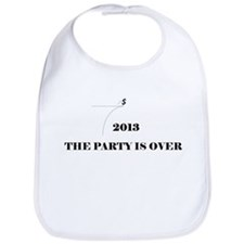 Fiscal Cliff - The Party is Over Bib