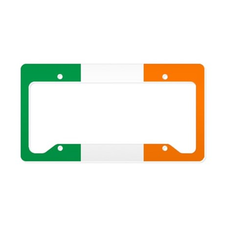 Flag of Ireland License Plate Holder