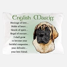 English Mastiff Pillow Case