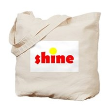 Shine Red Yellow Tote Bag