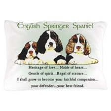 Eng. Springer Spaniel Pillow Case