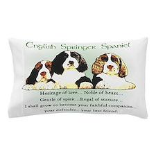 Eng. Springer Spaniel Pillow Case