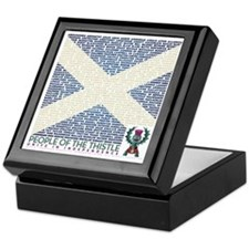 Clan Names Keepsake Box