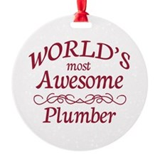 Awesome Plumber Ornament