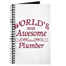 Awesome Plumber Journal