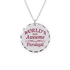Awesome Paralegal Necklace