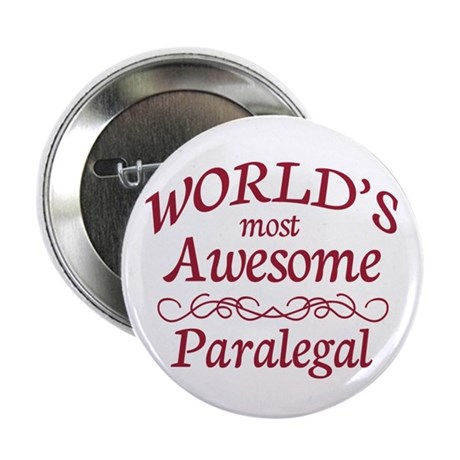 """Awesome Paralegal 2.25"""" Button"""