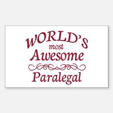 Awesome Paralegal Decal