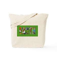 Earth in Wildlife Tote Bag