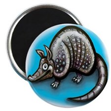 Cute Dillo Magnet