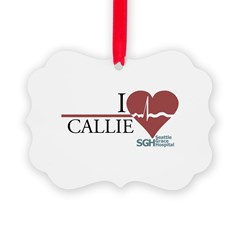 I Heart Callie - Grey's Anato Ornament