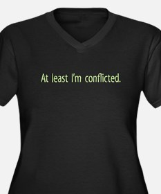 At least Im conflicted. Women's Plus Size V-Neck D