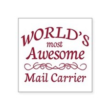 """Awesome Paralegal Square Sticker 3"""" x 3"""""""