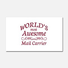 Awesome Paralegal Car Magnet 20 x 12