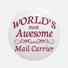 Awesome Paralegal Ornament (Round)