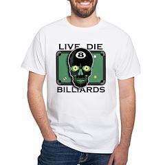 Live Die Billiards Shirt