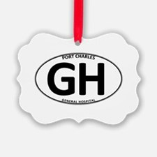 General Hospital - GH Oval Ornament