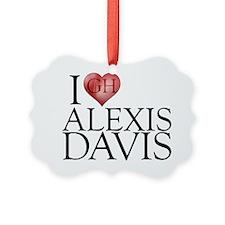 I Heart Alexis Davis Picture Ornament
