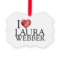 I Heart Laura Webber Ornament
