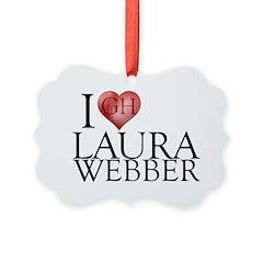 I Heart Laura Webber Ornament