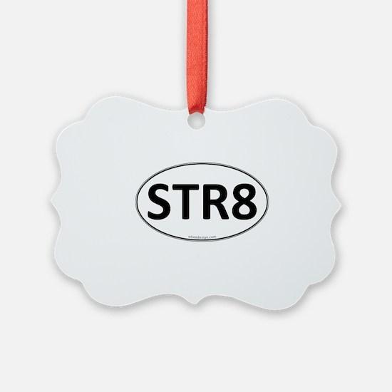 STR8 Euro Oval Ornament