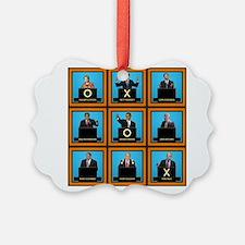 Presidential Squares Ornament