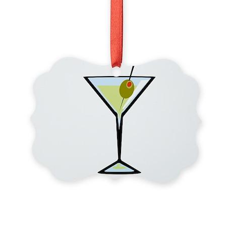Dirty Martini Picture Ornament