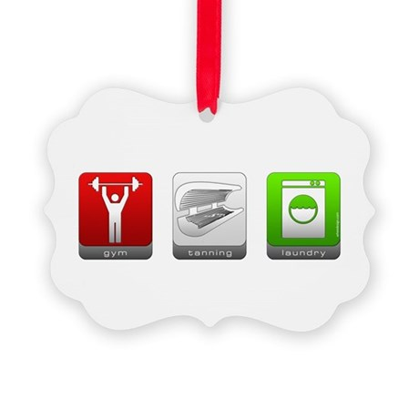 GTL - Gym, Tanning, Laundry Picture Ornament