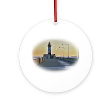 northpierlight.png Ornament (Round)