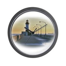 northpierlight.png Wall Clock