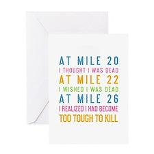 At Mile 20 Greeting Card