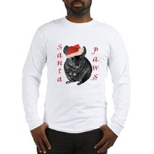 Chin Santa (black tov) Long Sleeve T-Shirt