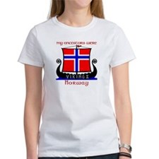 Norwegian Viking Ancestors Women's Tee