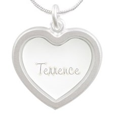Terrence Spark Silver Heart Necklace